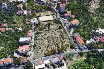 Vista terreno edificabile in vendita a Reggio Calabria in località Rosalì